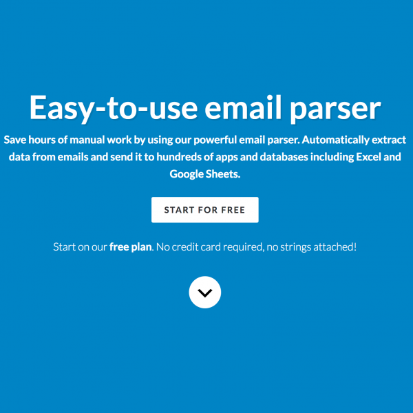 Parseur Turn emails into data