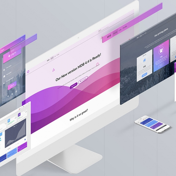 Material Design for Bootstrap 4
