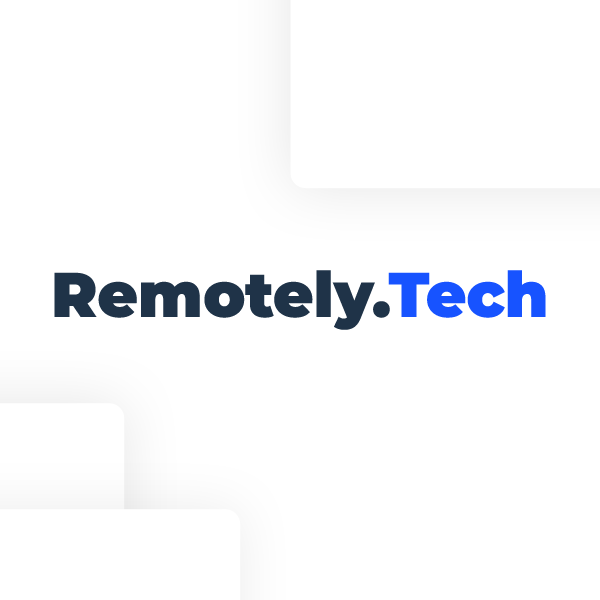 Remotely.tech Find your dream remote job