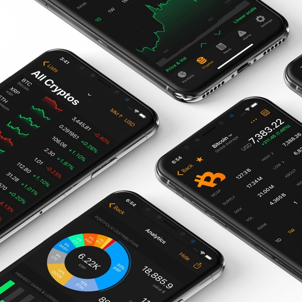 Crypto Pro A crypto tracker that doesn't track you back