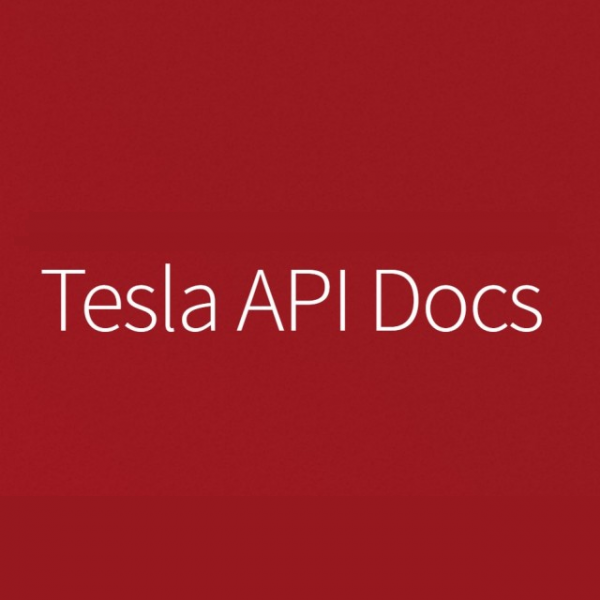 Tesla API Docs Documentation and resources for the Tesla API