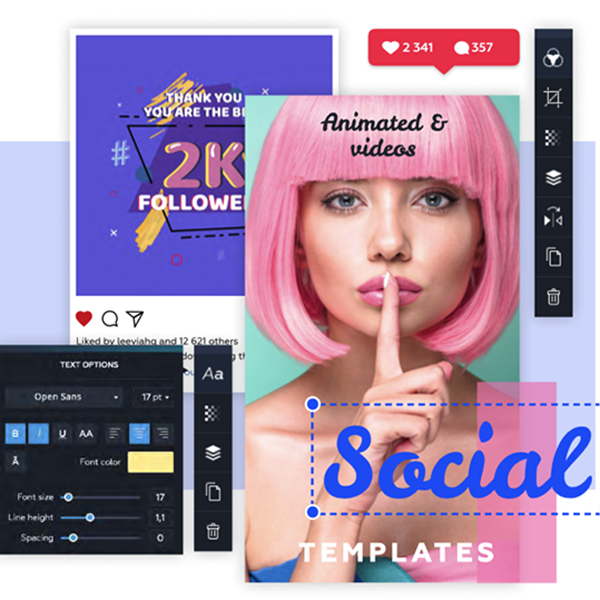 Crello Crello is an online platform for easily creating videos and graphic designs, for social media, print, or any other web-based graphics by using a huge collection of already designed templates and video/photo content.
