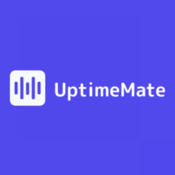 UptimeMate UptimeMate checks your website for uptime, speed and health 24/7.