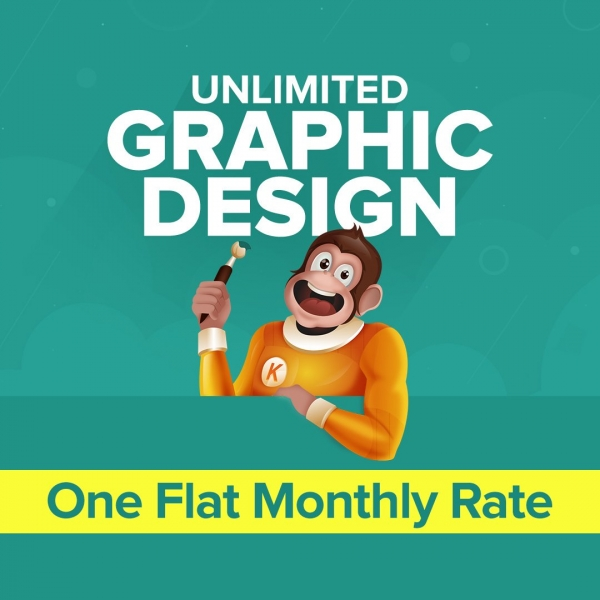 Kimp.io Unlimited Graphic Designs for a Flat Monthly Fee!