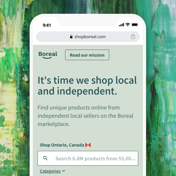 Boreal Find things you'll love from local and independent merchants