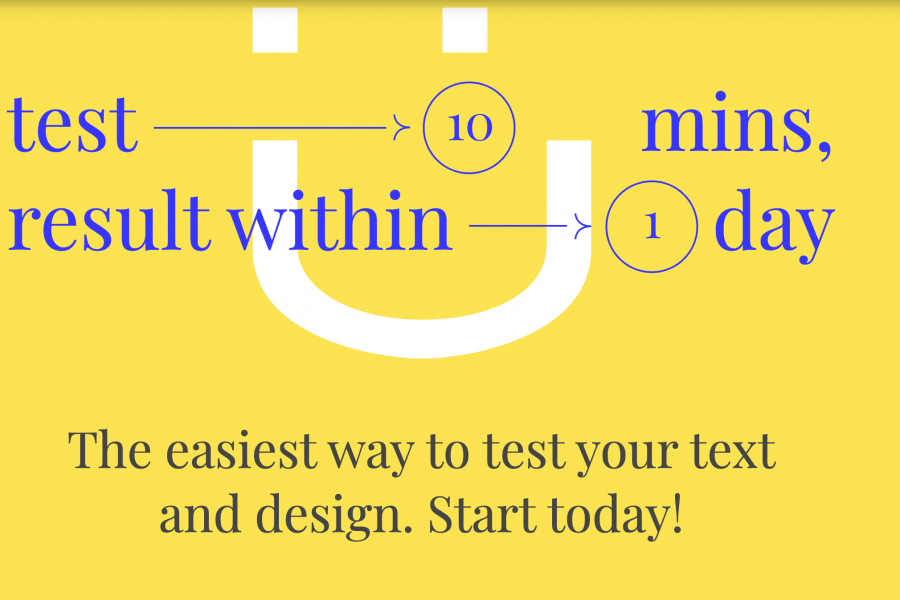 Easy User Test Validate your text & design decisions with real users.