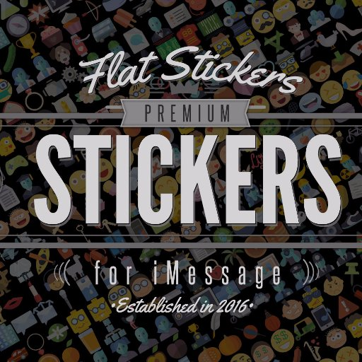 Flatstickers Amazing packs of high quality handmade stickers in flat design.